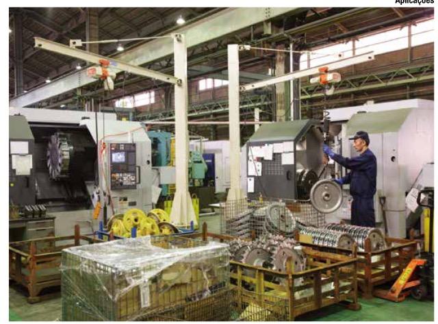 CraneService - intermach - messebrasil - sistemas de movimentação de materiais